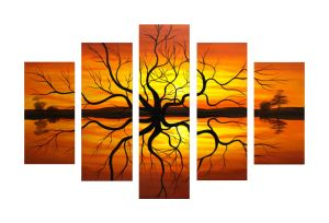 Designer Multipanel Oil Painting 1