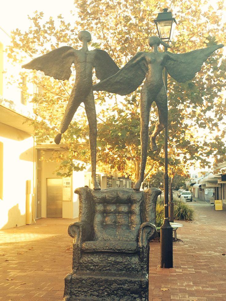 Fantastic sculpture.. Subiaco