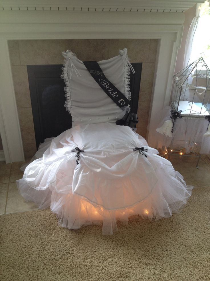 1000 Images About Bridal Shower Chair On Pinterest