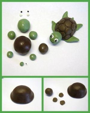 DIY Cute Polymer Clay Turtle DIY Cute Polymer Clay Turtle by diyforever