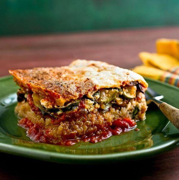 lasagna z komosą ryżową Kasia Gurbacka