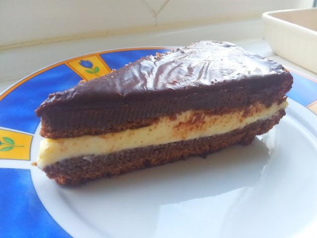 honey, milk & chocolate cake