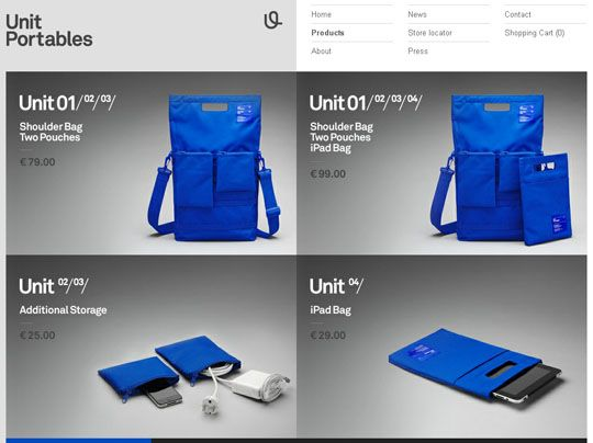 Showcase Of 30 Online Shopping Websites With Creative Product Catalogs | Design Inspiration