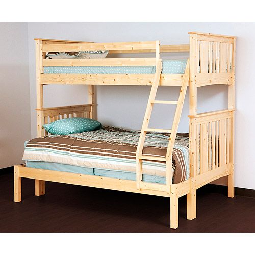 Canwood Base Camp Twin over Full Bunk Bed with Ladder and