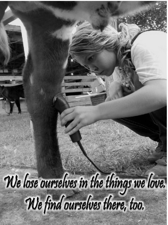 Showing Livestock, fitting cattle, 4H and loving farm life!