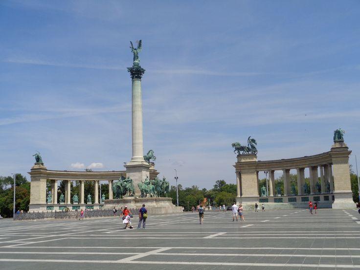 Millenniumi emlékmű Budapest, Magyarország