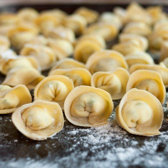 How to Make Homemade Tortellini like a professional! I like to fill mine with spinach and cheese or sweet potato, mushroom and goat cheese (so good!)