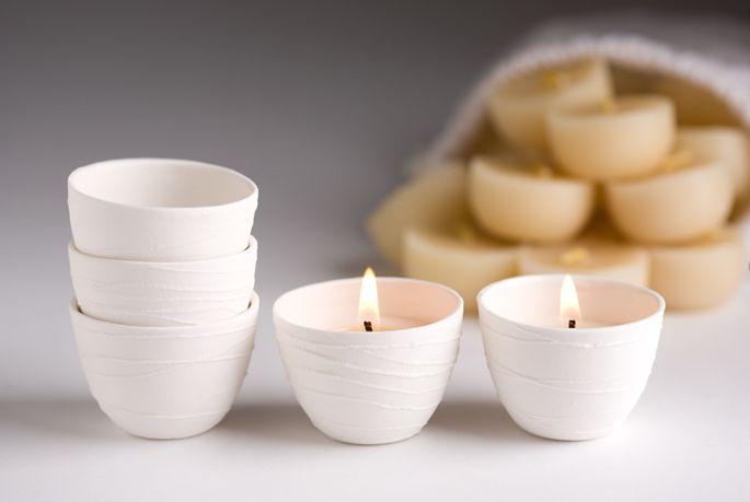 Light bowl ceramic
