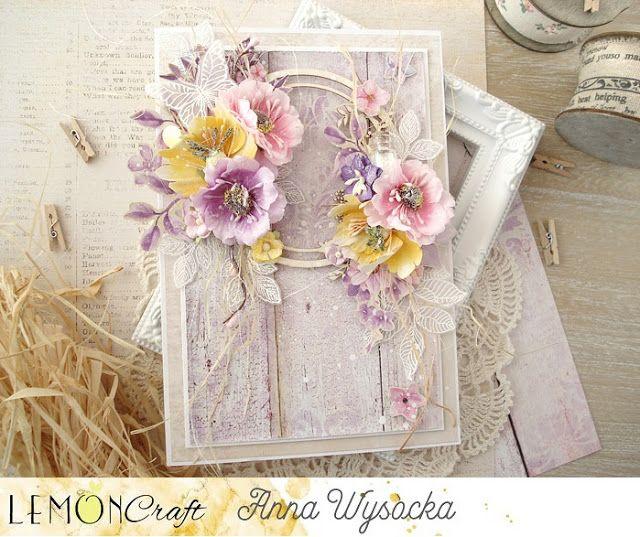 Recznie Robione Kartki Wiosenne Handmade Spring Cards Card Craft Cardmaking Crafts