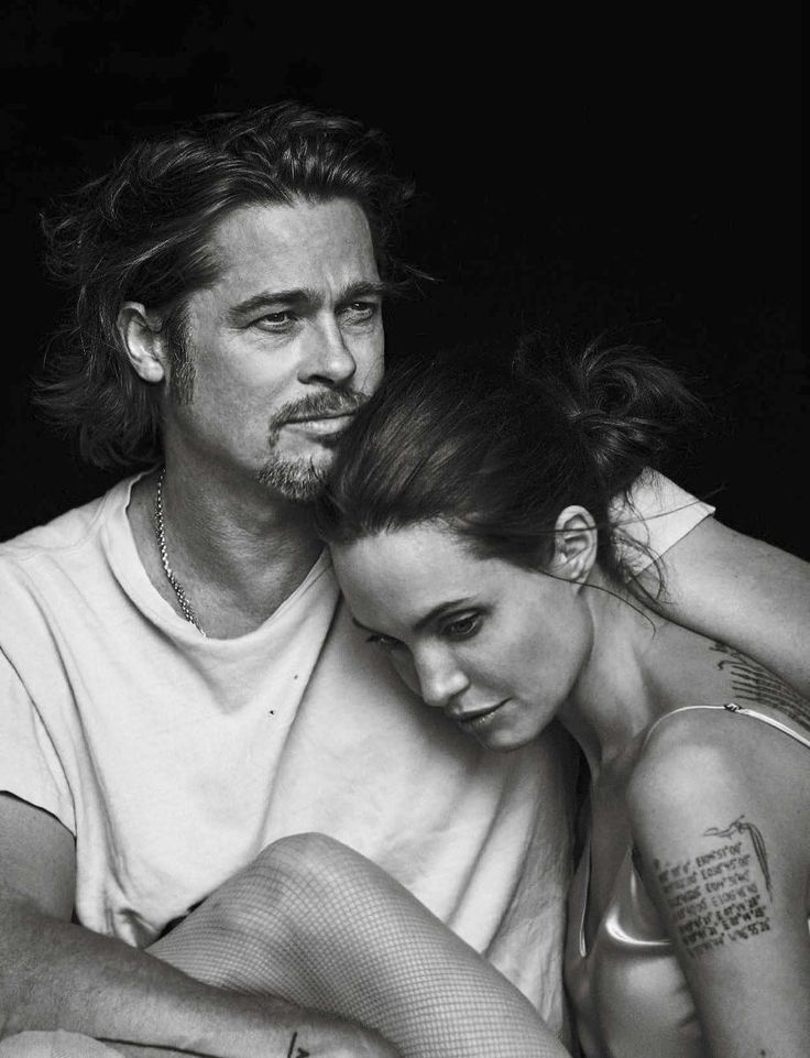 Vanity Fair, Italia. November-2015 - Angelina Jolie and Brad Pitt by Peter Lindbergh