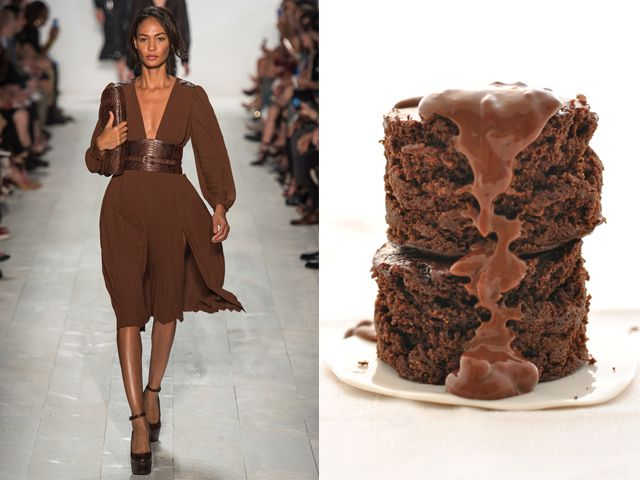 Michael Kors ss 2014 / Chocolate cake without eggs, milk and butter