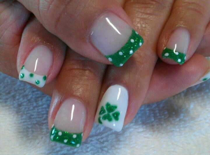 saint+patrick+day+nail+designs | St Patrick's Day Nails | nails designs