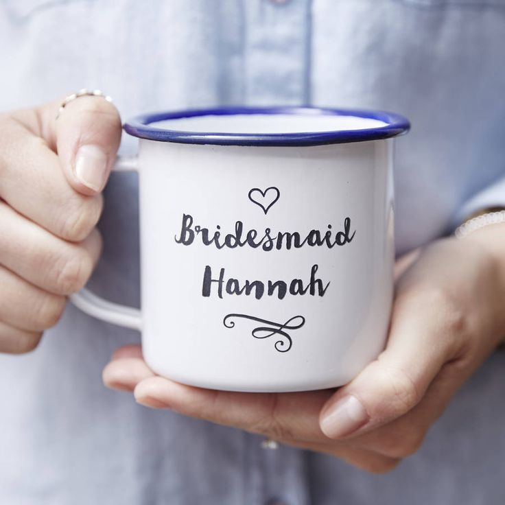 13 Awesome Wedding Gift Ideas for Bridesmaids - Mug | CHWV