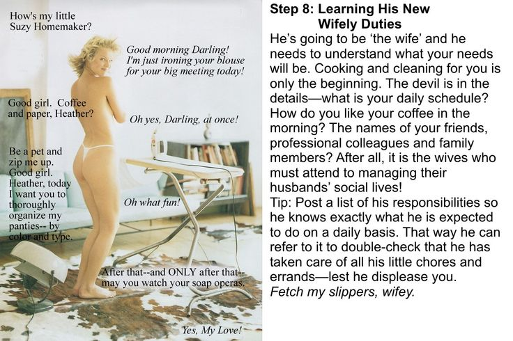 Sissy training steps