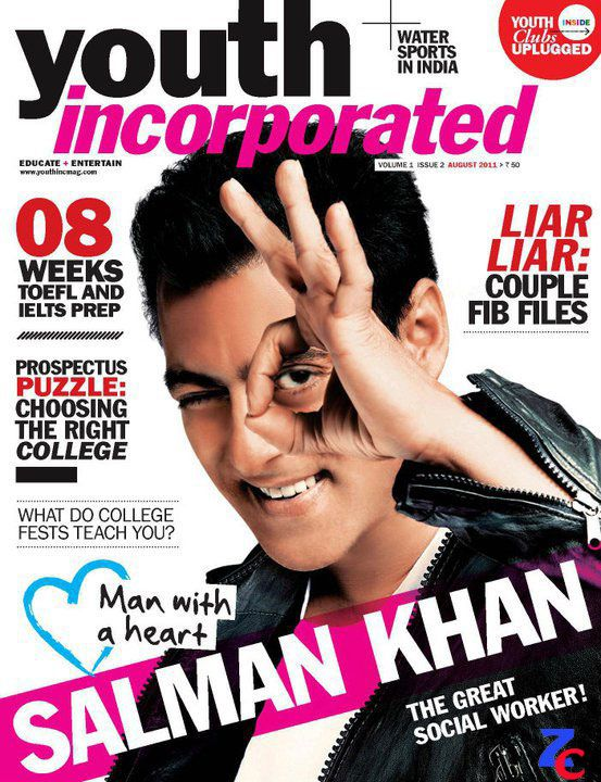 Salman Khan. Youth Incorporated.