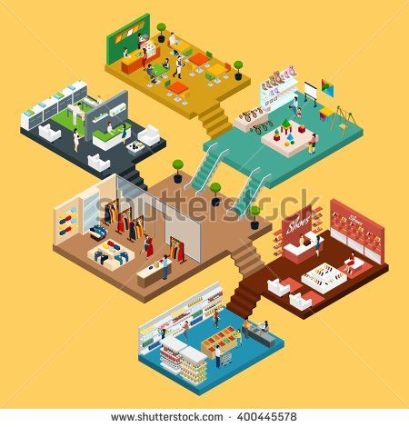 stock-vector-mall-isometric-icon-set-with-conceptual-d-map-of-multistory-shopping-center-with-different-floors-400445578.jpg (450×470)