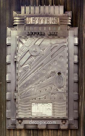 Deco Letter box -