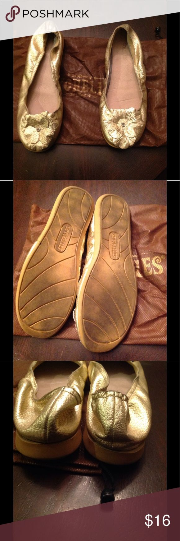SEYCHELLES GOLD LEATHER FLATS SEYCHELLES GOLD LEATHER FLATS SIZE 9 COMES WITH DUST BAG Seychelles Shoes Flats & Loafers