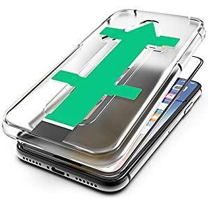 hardwrk Premium 3D Glass mit Anbringhilfe für iPhone X/XS/10 5.8 Zoll – schwarz…