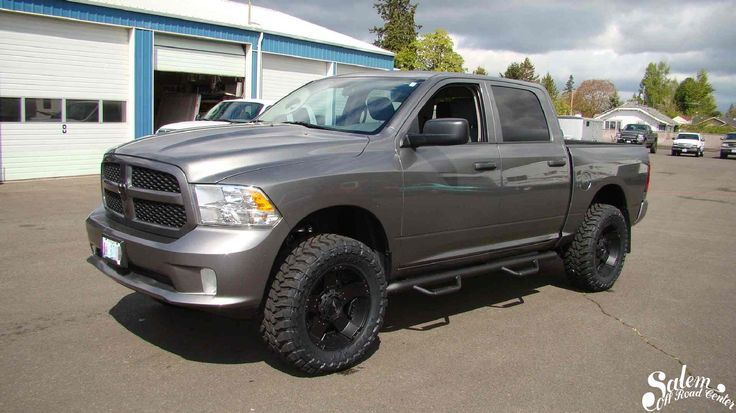"""On this 2013 Ram 1500, we installed a BDS Suspension 4"""" lift, N-FAB steps, 35/12.50/r20 Toyo"""