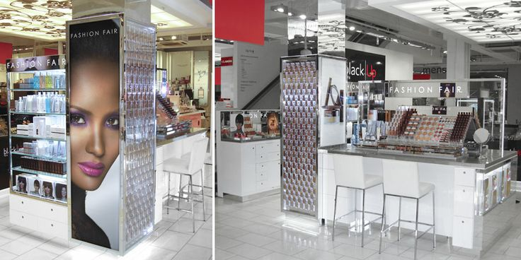 Fashion Fair Beauty Products: RPG Retail Design & Displays