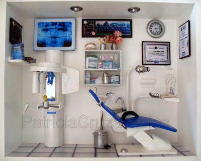 Este cuadro con Miniaturasfue solicitado por una Odontóloga Especialista enRadiología Dental para decorar su propia consulta      De...