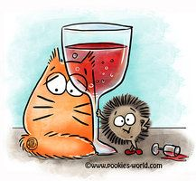 Red red wine by Maria-van-Bruggen