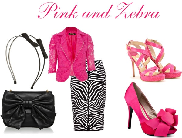 Pink And Zebra Modest Outfit Created By Mishashawnea96 On Polyvore