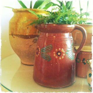 Confit Pot and Alsace Milk Pot