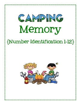 Going camping with a preschooler any time soon?  Take along this camping themed game of Memory to play!This set includes 2 sets of small number...