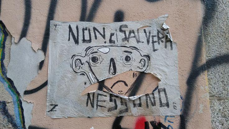 Non ci salverà nessuno, Milano, 1° riScatto Urbano di CassandraKoll. Saranno conteggiati i RT al seguente tweet: https://twitter.com/CassandraKoll/status/958825792988905472