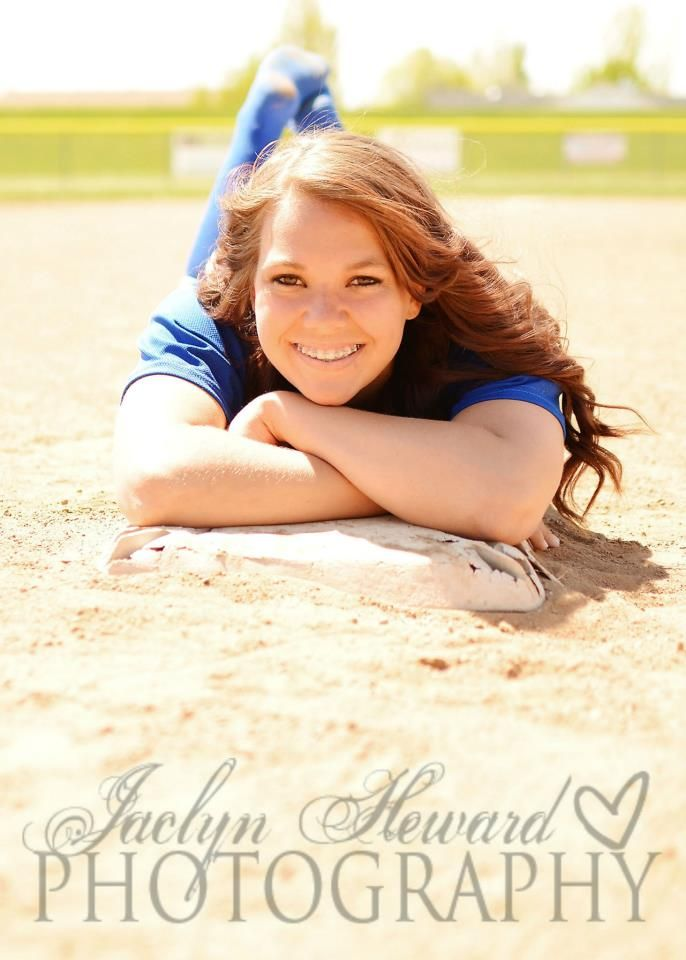 Softball senior pic
