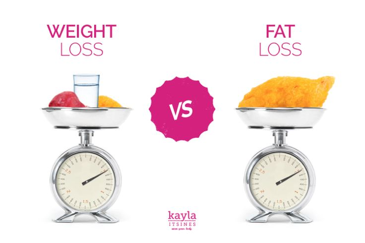 the difference between weight loss vs fat loss is huge