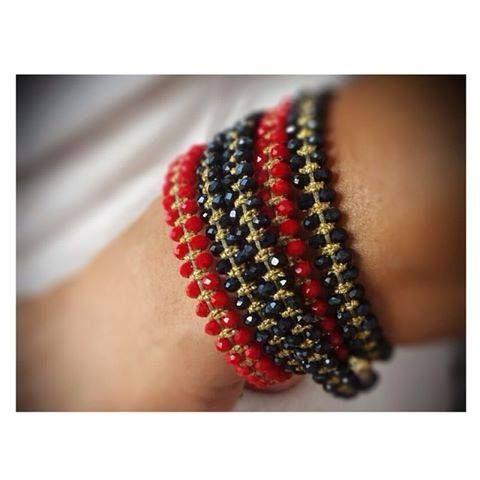 Glam up! #armcandy #autumn #handmade #jewelry #bracelets #accessories #Didadi