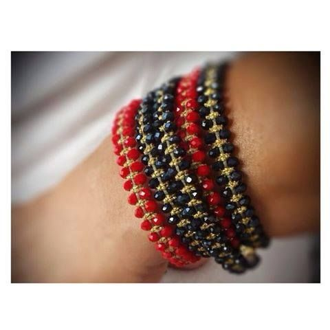 Glam up! #armcandy #autumn #handmade #jewelry #bracelets #accessories #Didadi