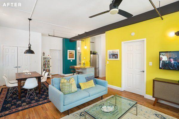 Egy leszbikus pár színes otthona   roomLybox