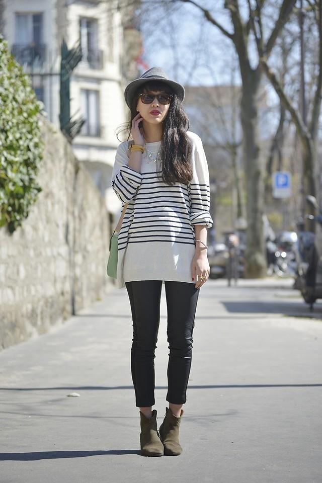 Shop this look on Kaleidoscope (shirt, pants, hat, bootie)  http://kalei.do/WkanGpGQ41Lgrpqe
