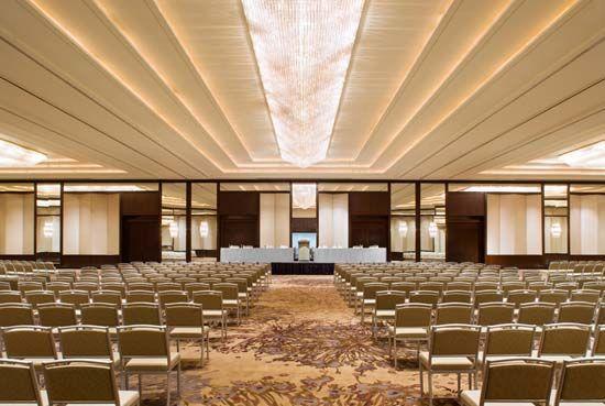 Ballroom Lines Multipurpose Hall Hall Interior