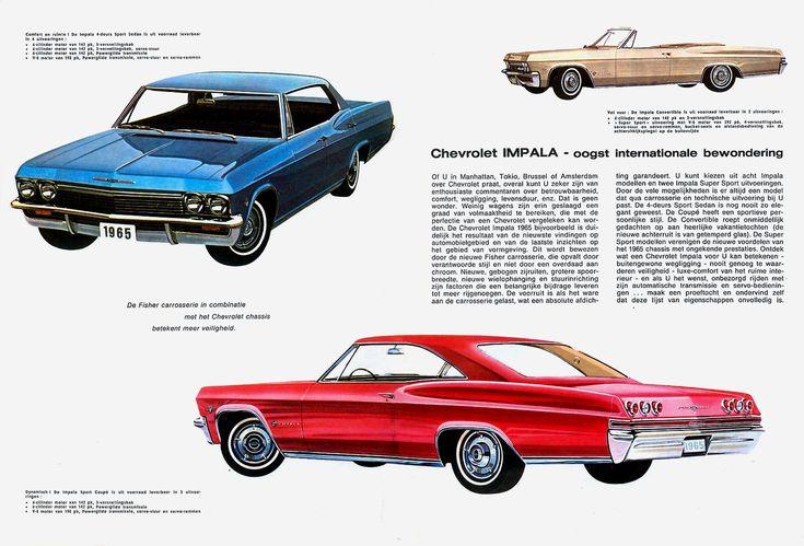 1965 Chevrolet Impala Ad