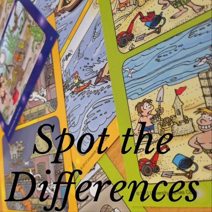 Great cards to promote fluency in speaking. No prep. Spot the Differences {Activity for Language Learning}