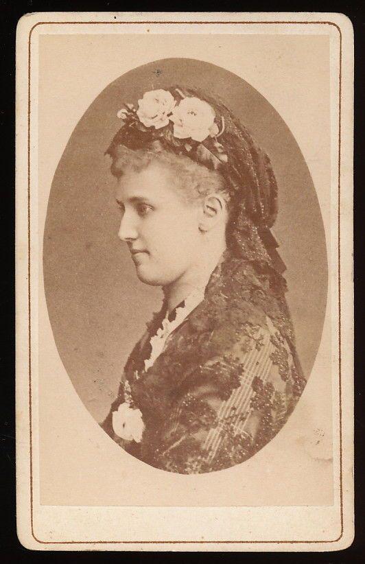 Opernsängerin Christine Nilsson - CDV ca. 1870er | eBay