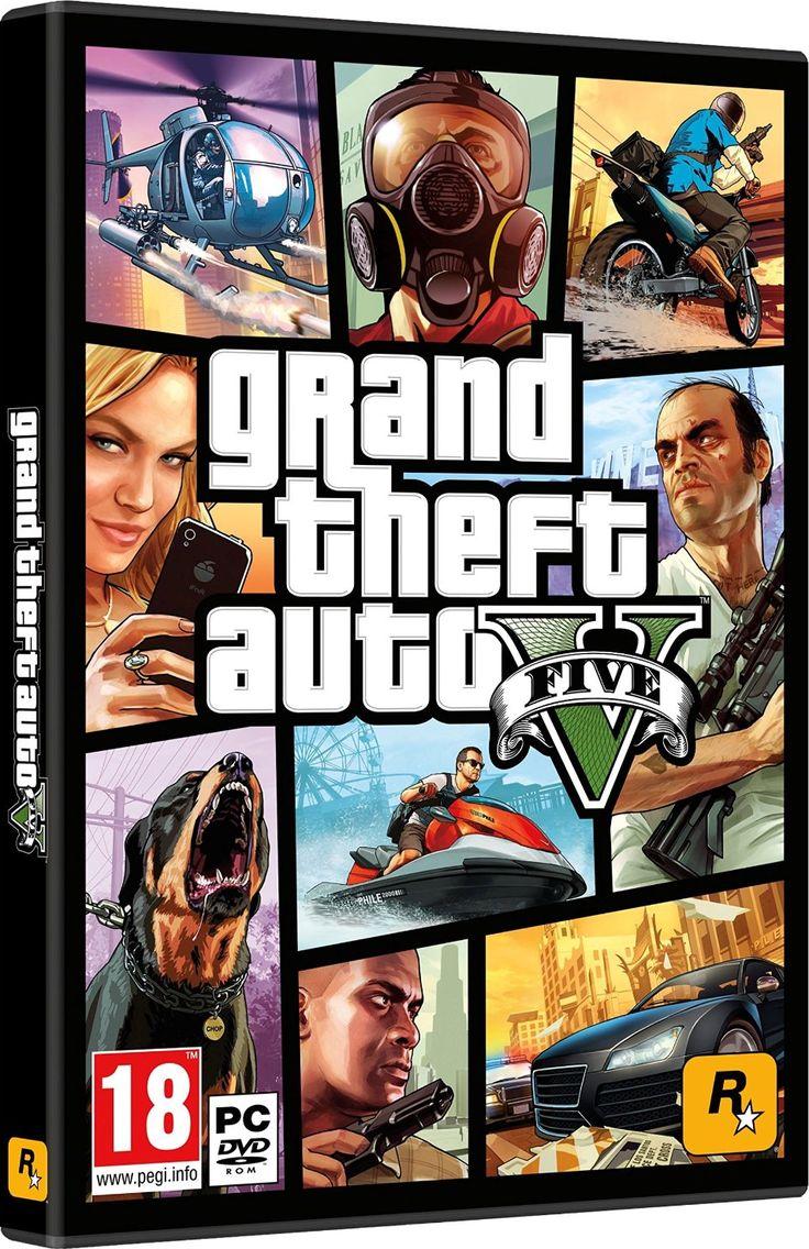Grand Theft Auto V Multilenguaje (Español) (PCGAME