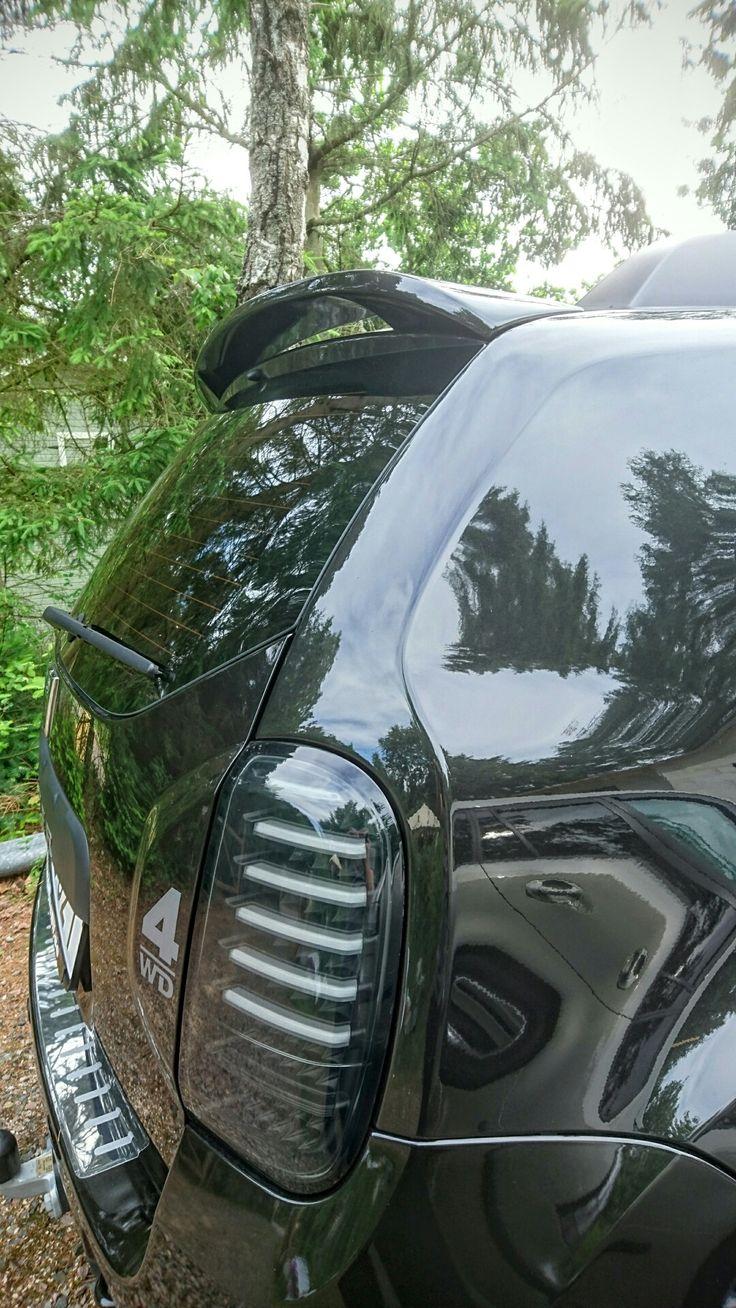 Dacia Duster 4x4 Rear styling.