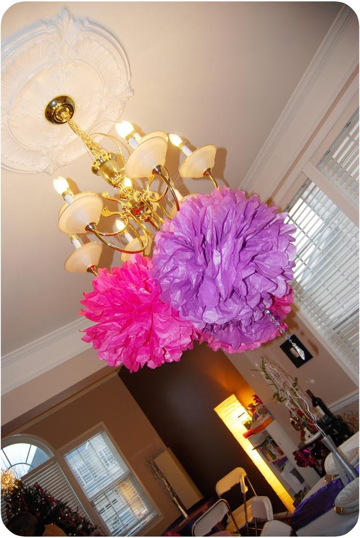Unique purple party decorations ideas on pinterest