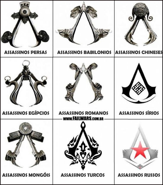 Assassin's Creed ao redor do mundo… FODA! : Fail Wars