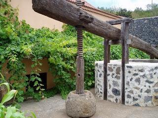 Lagar canario-La Gomera