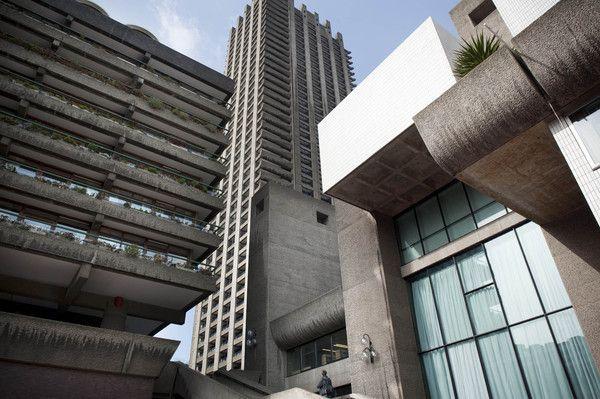 Le Corbusier exhibition in the Barbican