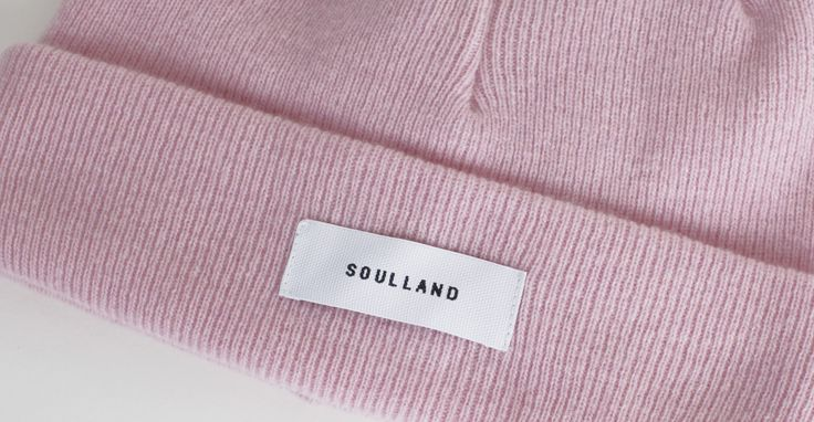 Soulland Villy Beanie Pink – Voo Store
