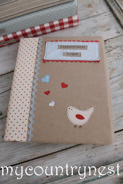 My country nest: My notebook covers for patterns