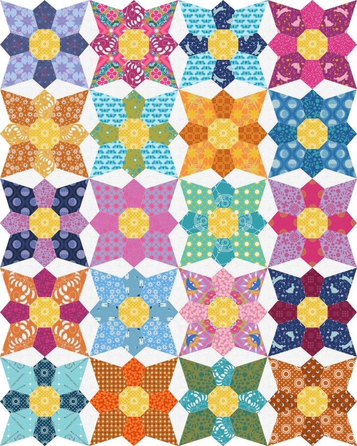 Quilt Paper Piecing Patterns For Beginners : 37 best images about Quilt Ideas - English Paper Piecing patterns on Pinterest